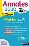 Annales ABC du BAC 2020 Maths Term S - corrigé...