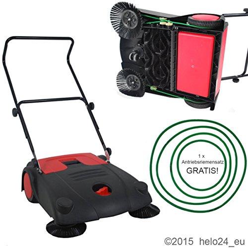 rote Handkehrmaschine 70 cm Modell 2015