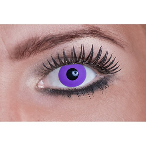 Eyecatcher Color Fun - Lenti a contatto colorate da Purple Gothic/viola (1 x 2 pezzi)