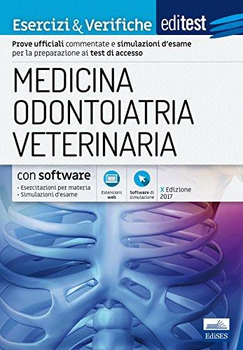 EdiTEST. Medicina, odontoiatria, veterinaria. Esercizi & verifiche. Con espansione online