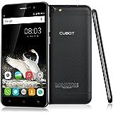 Cubot Dinosaur Smartphone sans Contrat (5,5 pouces écran HD IPS, MT6735A 1.3GHz 64-bit Quad-core, 4G LTE FDD Android 6.0 Téléphone, 16 Go de Mémoire Interne, 13 mégapixels, 4150 mAh Batterie, Dual SIM) Noir