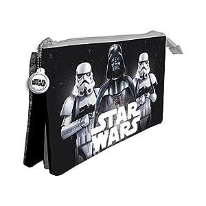 Star Wars Estuche portatodo con Tres Compartimentos 9