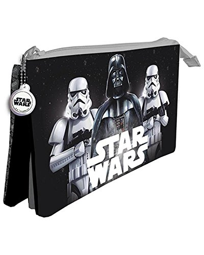 Star Wars Estuche portatodo Tres Compartimentos