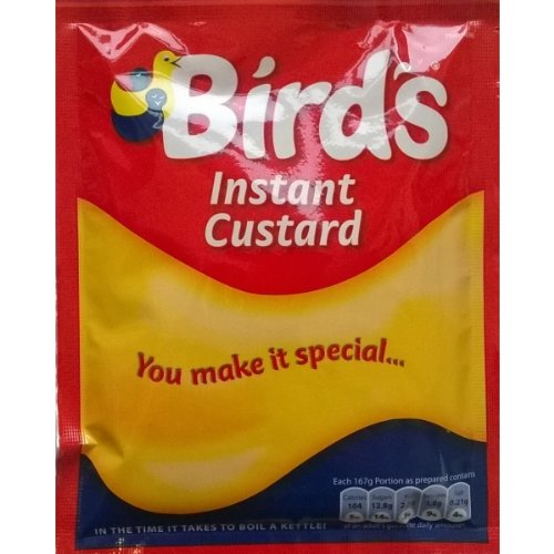 Oiseaux instantanée Custard Mix 6 x 75g sachet