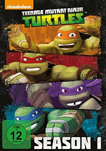 Turtles - Season 1 [4 DVDs] (Teenage Mutant Ninja Turtle Videos)