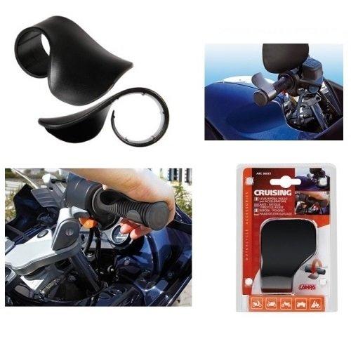 PER NIU PER MOTO SCOOTER 90073 LAMPA CRUISING NERO DIMENSIONI: ALT 160MM X LARG 110MM X PROF 45MM