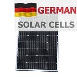 120W Panneau solaire Photonic Universe en allemand cellules solaires, pour une caravane, camping-car, caravane, bateau, yacht ou pour n'importe quel autre véhicule ou Marine, Applications, ou d'un système d'alimentation solaire Hors-réseau stationnaire (120W), Choix Optimal pour chargement d'une batterie 12V...