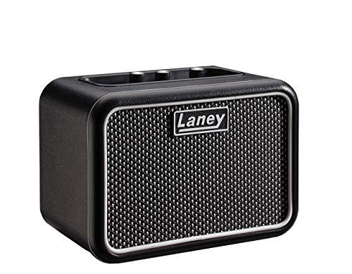 Laney Mini Series Gitarrenverstärker mit Smartphone-Schnittstelle Supergroup Mono Schwarz