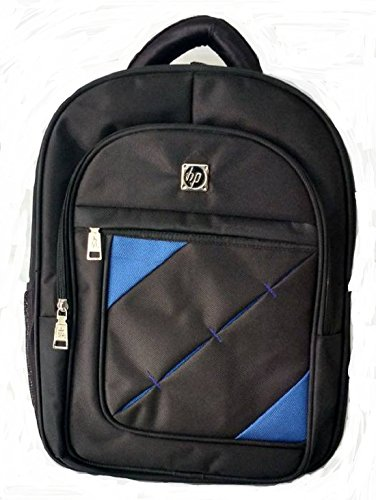 HP 17 inch Polyester 21ltr Waterproof Laptop Backpack  Black and Blue  Laptop Backpacks