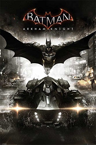 "Empire Interactive - Poster ""Batman, Arkham Knight, Teaser"" + accessori multicolore"