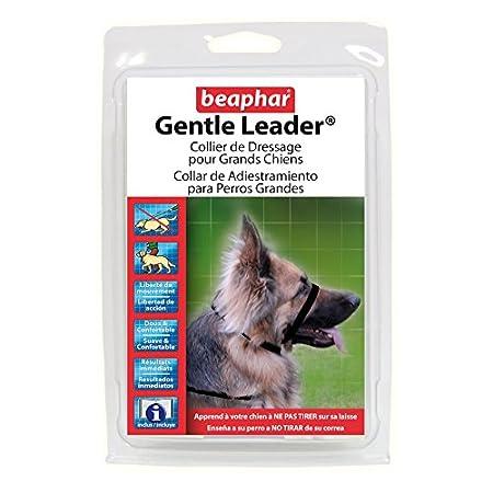 Perky-Pet Beaphar Gentle Leader-Trainings-Kragen, L, Schwarz