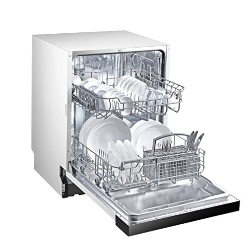 Midea SI 3.60 Geschirrspüler Teilintegriert / 258 kWh/Jahr / 2800 L/jahr / Clever Basket / Dual Zone