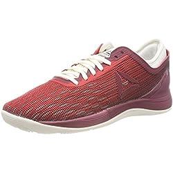 Reebok R Crossfit Nano 8.0, Zapatillas para Mujer, Multicolor (Primal Red/Urban Maroon/Chalk/Black Cm9172), 37.5 EU