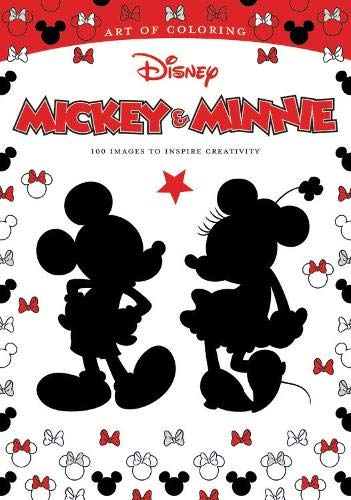Art Of Coloring: Mickey Mouse And Minnie Mouse 100