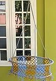 #4: NOVICZ Baby Swing Cradle , Blue Yellow
