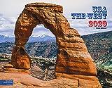 USA The West 2020: Großformat-Kalender 58 x 45,5 cm | Wandkalender Amerika