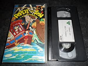 Popeye and Son VHS Video - A New Generation Attack of The