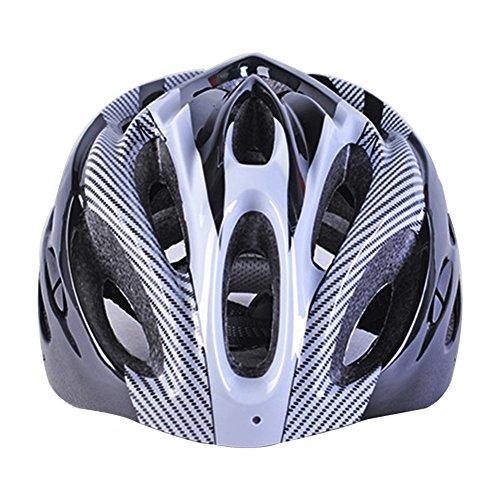 Casco de bicicleta de fibra de carbono