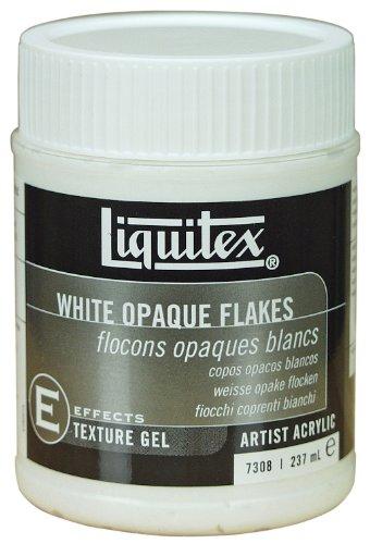 Liquitex 7308 Professional Weiße Opaken Flocken Effekte, M, 237 ml