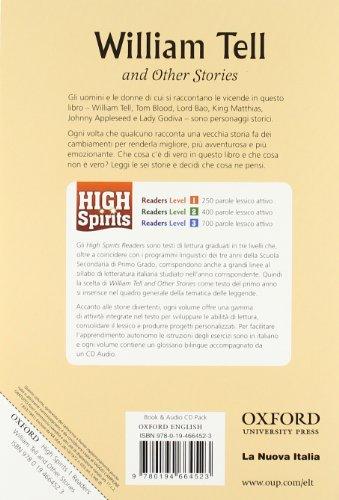 High spirits readers: William Tell. Per la Scuola media. Con CD Audio
