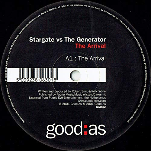 Stargate - The Arrival / The Drive - good:as Generator Flash
