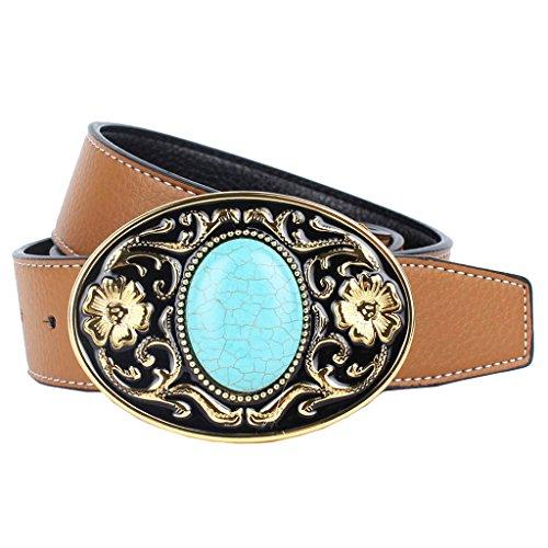 MagiDeal Cintura Fibbia Per Cowboy Cowgirl Accessori Decorazione Abbigliamenti Gioielli Vintage Occidentale