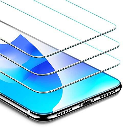 9HDClear Panzerglas Schutzfolie [3 Stück] für iPhone XS/iPhone X Anti-Kratzen 2.5D Panzerfolie Glasfolie Anti-Bläschen [5.8 Zoll]