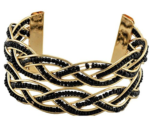 saysure-18k-gold-plated-open-bangles-cuff-bracelet