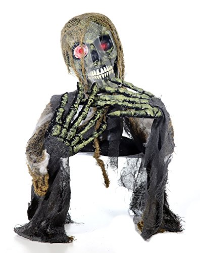 Preis am Stiel Halloween Zombie, auferstanden, animiert | Dekoration | Party | Monster | Grusel | Schocker | Halloweendko | Partydeko | Figur | Animation