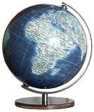 COLUMBUS DUO AZZURRO Miniglobus: Politisch mit Kontinent-Vignettierung: 241251
