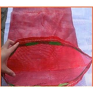20 x Net Woven Sacks Vegetables Logs Kindling Wood Log Mesh Bags 50x65 cm 30 kg