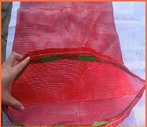 20sacos tejidos de malla para verduras