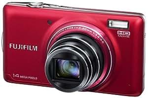 """Fujifilm FinePix T350 Appareil photo numérique compact 14 Mpix Écran LCD 3 """" Zoom optique 10x Rouge"""