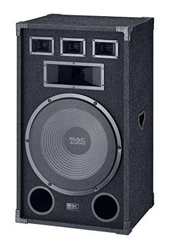 Mac Audio Soundforce 3800 | Partylautsprecher | 800 Watt  | max. Belastbarkeit und extreme Pegel | 1 Stück - schwarz