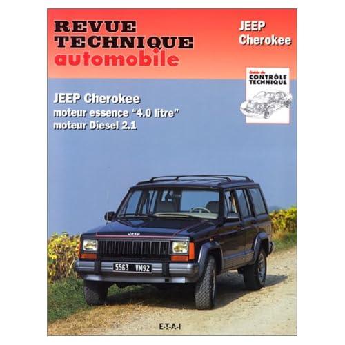 Revue technique automobile, N°529.2 : Jeep Cherokee