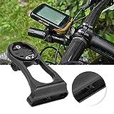 Focket Bicicletta Contachilometri contagiri, Bicicletta Regolabile Supporto in Alluminio Prolunga Ciclismo Contachilometri Mountain Bike Manubrio Estensore per Accessorio Bici da Bicicletta(Nero)