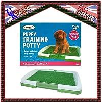 Perros, Gatos Pet Potty Pad para inodoro alfombra de entrenamiento Trainer