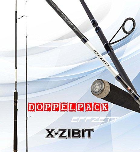 2 pc. DAM EFFZETT X-Zibit Spin, S-L, 1,90m, 5-20g (double d'occasion  Livré partout en Belgique