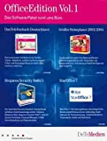 DeTeMedien Office Edition Vol. I - mit StarOffice 7, Steganos Security Suite, Telefonbuch und Reiseplaner