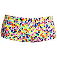 Way Funky Funky Trunks Boys Printed Trunks Hex On Legs / Badehose - AUS 12