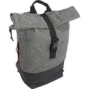 FORVERT Unisex Bag Lorenz & New Lorenz & Tarp Lorenz Robuster Daypack im ausgefallenen Design mit Wickelverschluss und spannendem Materialmix