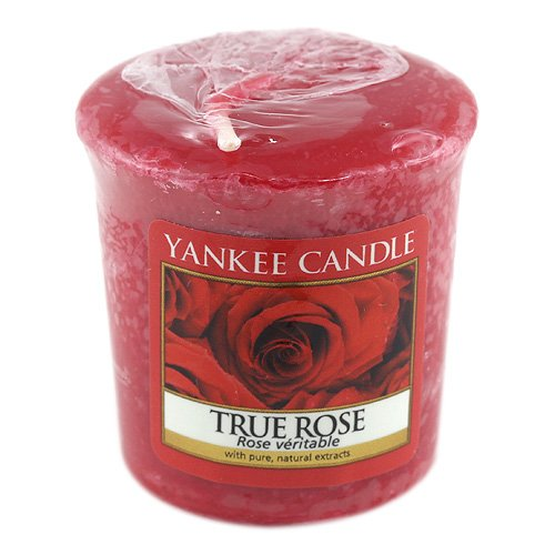 Yankee Candle Samplers Votivkerzen Wax True Rose 4.5999999999999996 x 4.8 x 1 cm