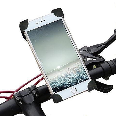 stonges Bike Phone Halterung Mobile Mobile Halterung für Reiten Handy Unterstützung für Motorrad und Fahrrad Handy Rack für Mountain Bike