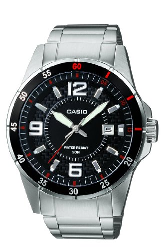 Casio Collection Herren-Armbanduhr MTP 1291D 1A1VEF (Casio Classic Analog Uhr)