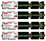 Komputerbay 16GB (4x4GB) DDR2 PC2-6400F 800MHz ECC Fully Buffered FB-DIMM (240 PIN) 16 GB w/Heatspreader für Apple-Computer