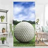 Panel japones Golf Ball 250x120cm | paneles japoneses separadores de ambientes cortina paneles japoneses cortina cortinas | Tamaño: 250 x 120cm incl. soporte transparente