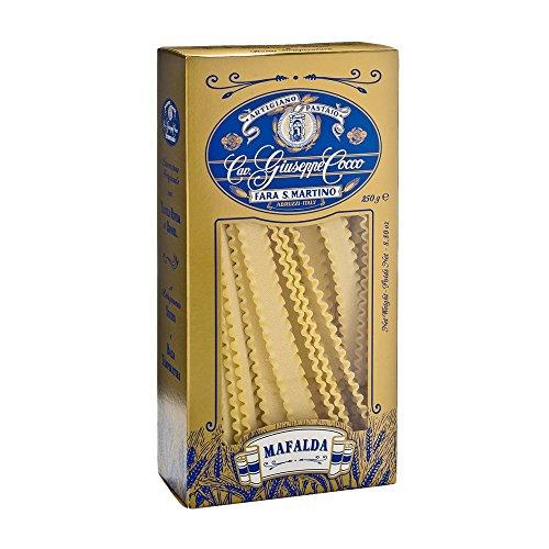 Pasta-Cocco-Mafalda-n55-250-Gramos-Cavalier-Giuseppe-Cocco-fabricante-de-la-pasta-artesanal-italiano