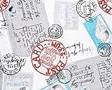 Stoffe Zanders GmbH Motiv-Stoff Post Card New York 140 cm