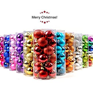 CZY-24-Stck-Christbaumkugel-Ornamente-bruchsicher-Weihnachtsdekorationen-Baumkugeln-klein-fr-Urlaub-Hochzeit-Party-Dekoration-Baum-Ornamente