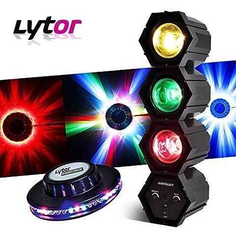Séquenceur effet Chenillard à lampes Mode musical 3 Couleurs + Jeu de lumière effet OVNI